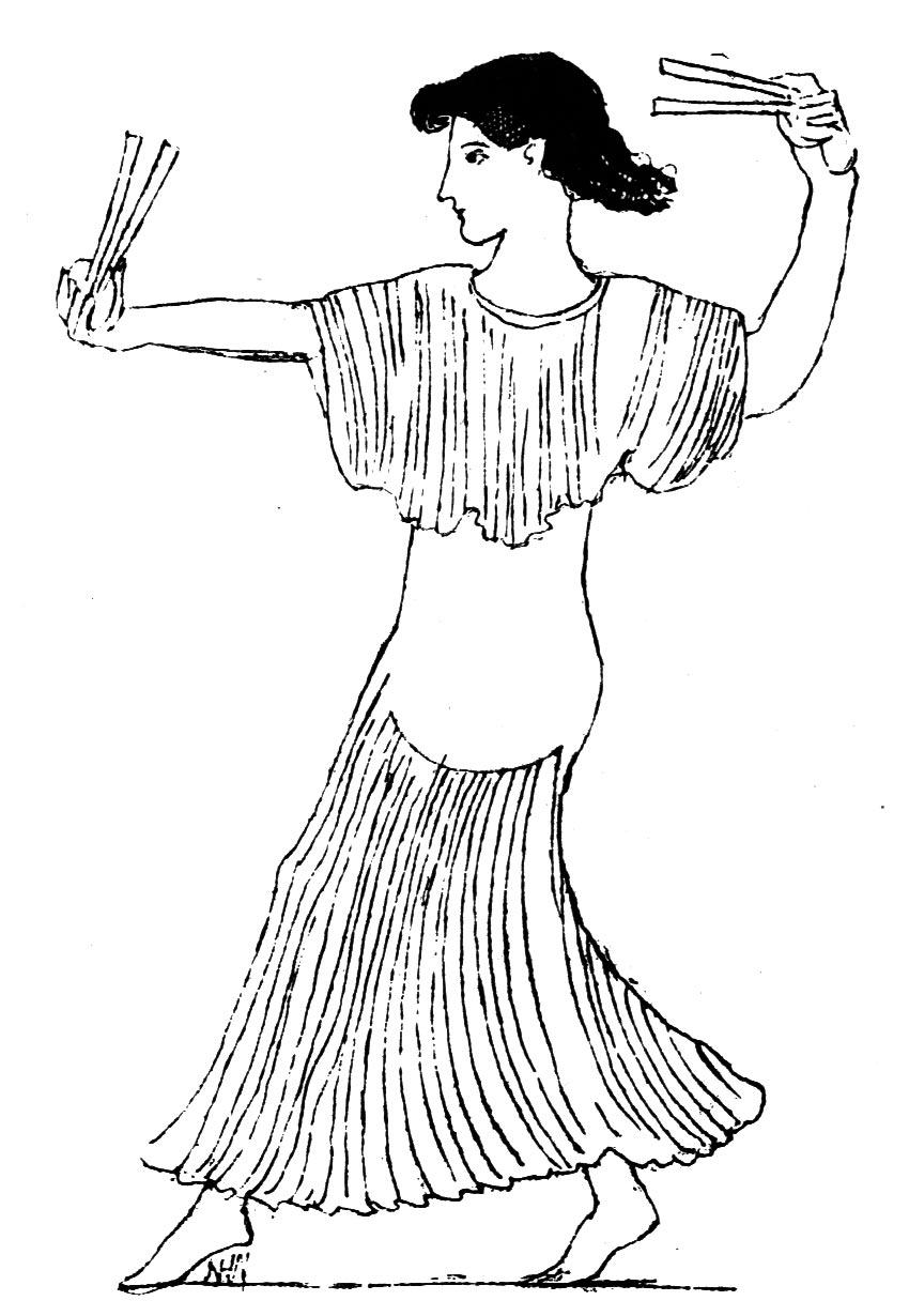 Ancient greek dance greek dancer with castanets british museum biocorpaavc